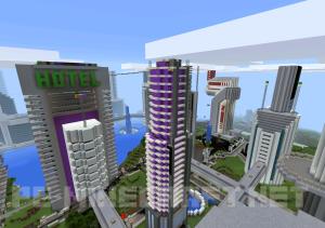 Карта Future City для Minecraft PE 0.12.1