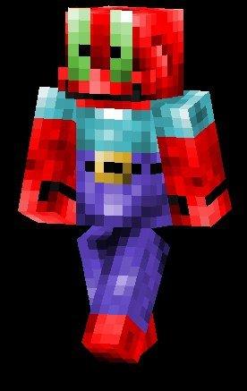 Скин Mr Krabs для Майнкрафт PE 0.12.X