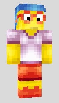 Набор Скинов The Simpsons для Minecraft PE 0.12.X