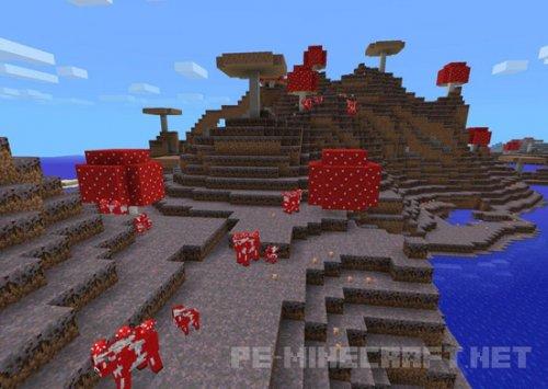 Сид Mushroom Island with Mooshrooms [0.12.1]