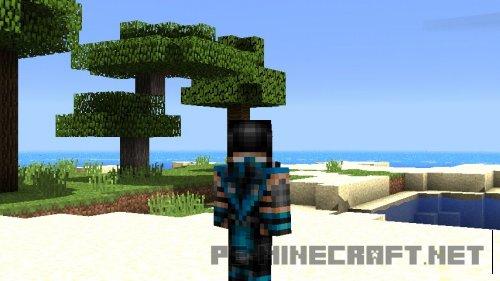 Мод Look Face для Minecraft PE 0.11.1