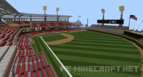 Карта AM BALLPARK для Minecraft PE 0.12.1