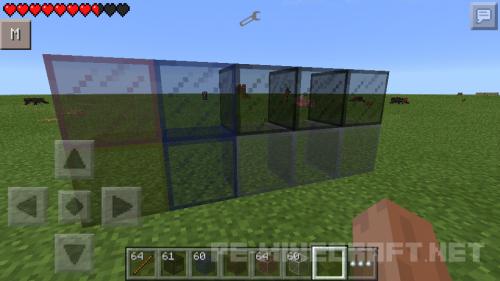 Аддон Сoloredglass для Minecraft PE 0.11.1