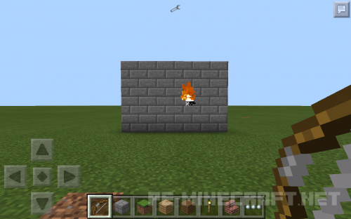 Мод THHBetterArowsMod для Minecraft PE 0.11.1