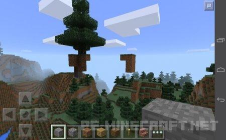 Странный сид для Minecraft PE