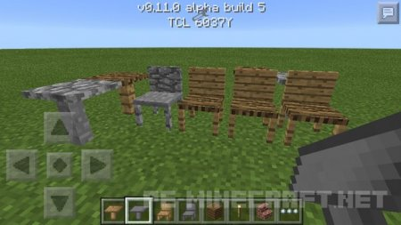 Аддон MrCrayfish's Furniture [MCPE 0.11]
