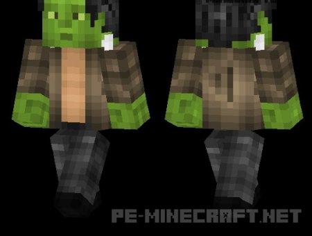 Скин Frankenstein для Майнкрафт PE 0.12.X