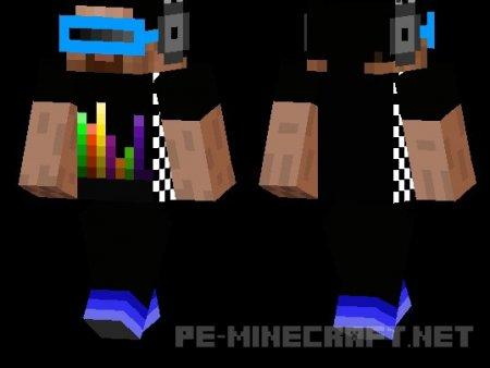 Скин DJ для MCPE 0.12.X
