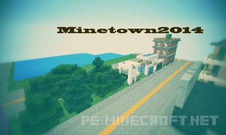 Карта [City] MineTown2014 v1.5