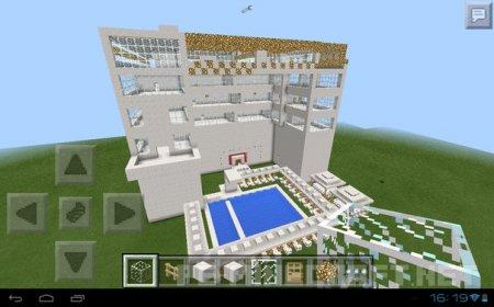 "Карта ""White Hotel"" для MCPE"