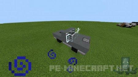 Строим джип в MCPE 0.12.1