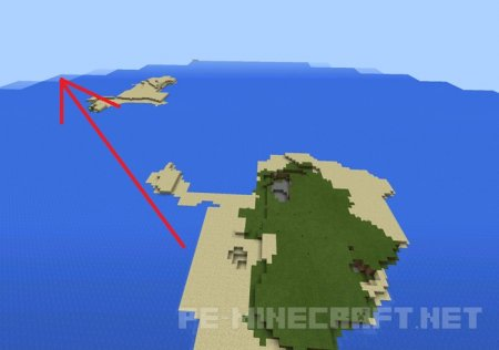 Сид на населённый остров
