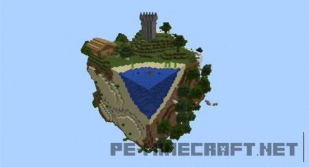 """Карта """"Мир minecraft"""""""