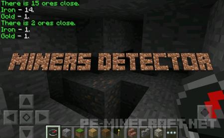 Мод Miners Detector [0.12.x]