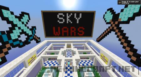 Sky Wars сервер для Minecraft [0.13.x]