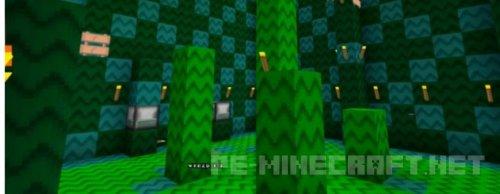 Карта Марио 3D для MCPE 0.14.0