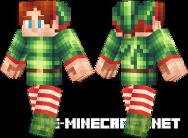 Скин Эльфа для Minecraft 1.9