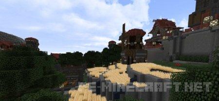 Текстуры Realistic Defoult для Minecraft 1.9