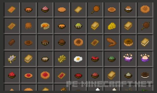 Мод Usefull Food [0.14.0]