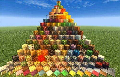 Пак текстур Plunder's Pixelcraft для Minecraft PE [0.14.0]