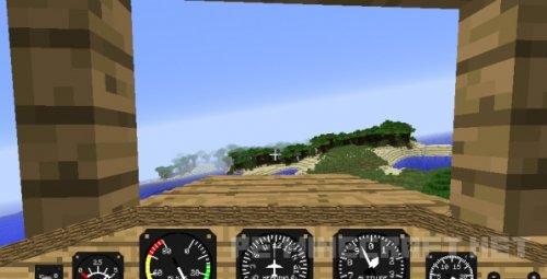 Мод Летный симулятор для Minecraft 1.9