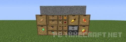 Мод на Новые хранилища для Minecraft 1.9