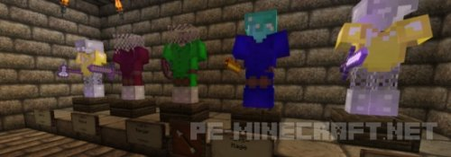 Карта на выживание Dungeon Crawles для Minecraft 1.9