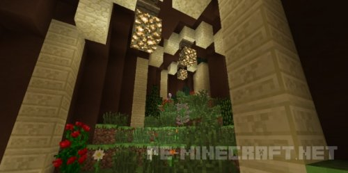 Карта The Pharaon's Oasis для Minecraft 1.9