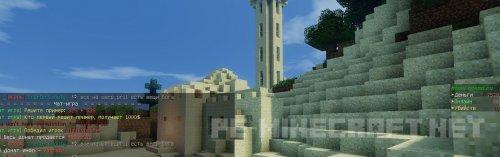 Обзор игрового Minecraft сервера MineLegend 1.8