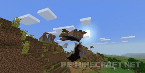 Сид  Летающий в саванне остров для MCPE 0.14.0