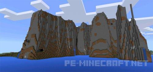 Сид Горный остров для Minecraft PE 0.14.0