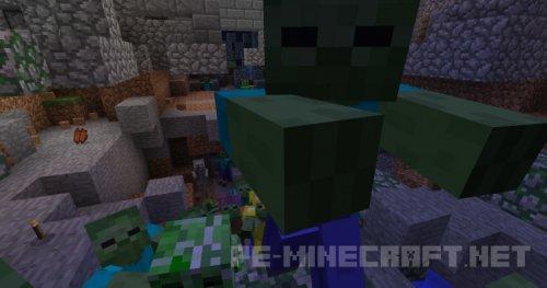 Мод Monster Swarm для Minecraft 1.8