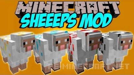 Мод Sheeps для Minecraft 1.9