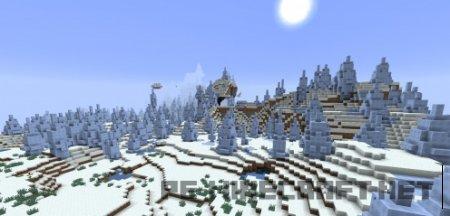 Сид Зимний рай для Minecraft 1.9