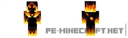 Скин Сумасшедший Пиротехник для Minecraft 1.9