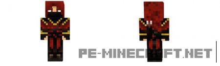 Скин Ассасина в красном для Minecraft