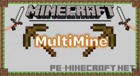 Мод Multi Mine для Minecraft 1.9