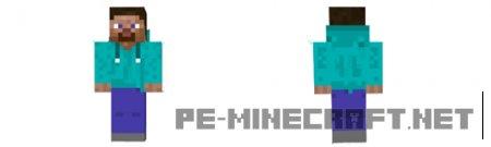 Скин Стива в батнике для Minecraft