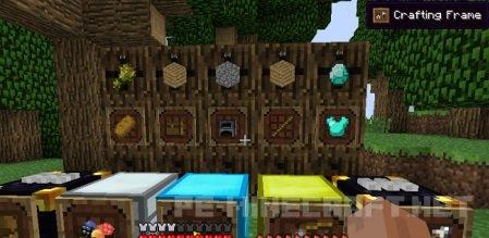 Мод Super Crafting Frame для Minecraft 1.9