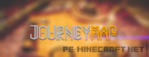 Мод Journey Map для Minecraft 1.9