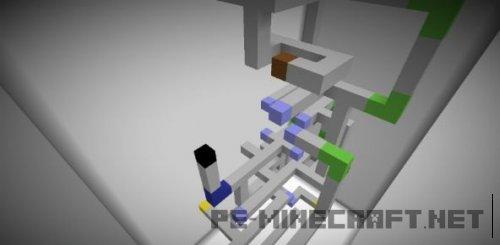 Карта Flipped для Minecraft 1.9