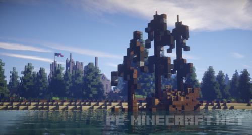 Карта Руины замка для Minecraft