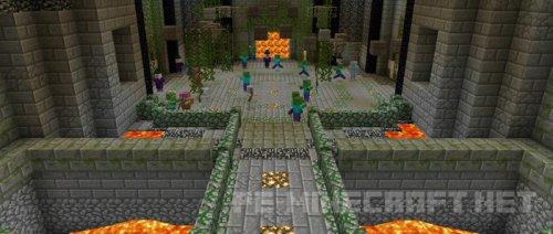 Карта Arena (Story mod) для MCPE