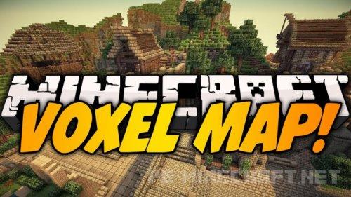 Мод VoxelMap для Minecraft 1.9
