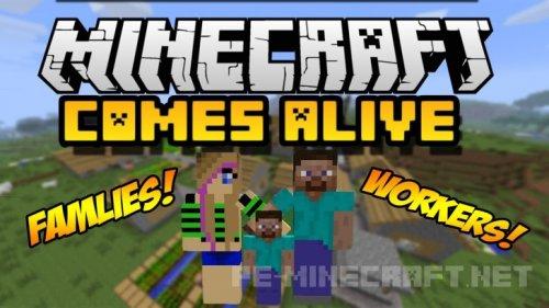 Мод Minecraft Comes Alive для Minecraft 1.9