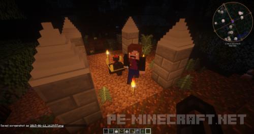 Мод Вампиризм для Minecraft 1.9