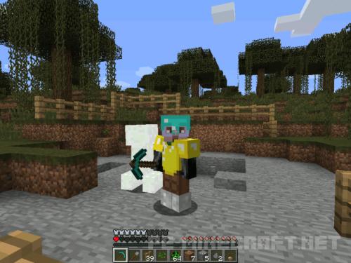 Мод Lootable Bodies для Minecraft 1.9