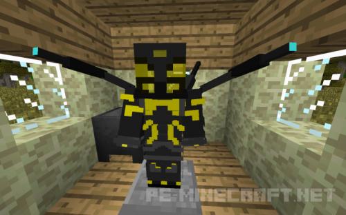 Мод Человек-Муравей для Minecraft 1.8