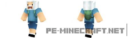 Скин Фина для Minecraft