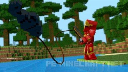 Скин Iron Man для Minecraft
